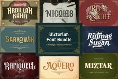 Victorian Font Bundle Product Image 1