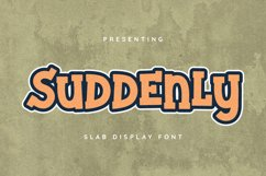 Suddenly Font Product Image 1