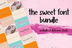 The Sweet Font Bundle Product Image 1