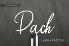 Pach Font Product Image 1