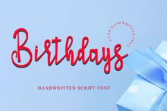Birthdays Product Image 1