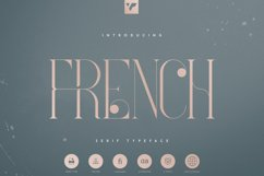 French Typeface - 4 fonts Product Image 1