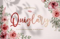 Quiglary - Handwritten Font Product Image 1
