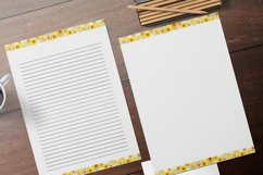 Yellow Lined and Unlined Journaling Papers Product Image 1