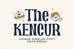 Kencur Font Product Image 1