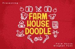 FarmHouseDoodle Font Product Image 1