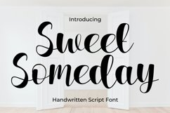 Sweet Someday Script Font Product Image 1