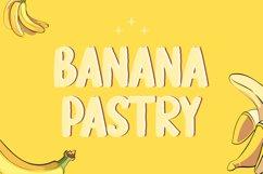 Banana Pastry - Brush Display Font Product Image 1