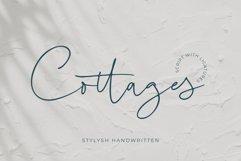 COTTAGES - Stylish Handwritten Product Image 1
