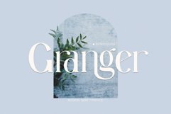 Granger Ligature Serif Typeface Product Image 1