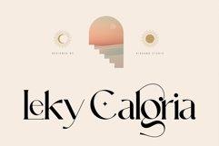 Leky Calgria Elegant Serif Product Image 1