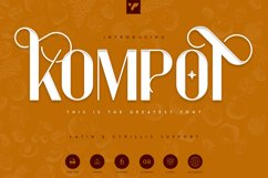 Kompot Display - 2 fonts Product Image 1