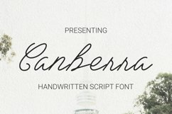 Canberra Font Product Image 1