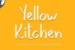 Yellow Kitchen Product Image 1