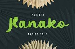 Hanako Font Product Image 1