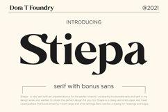Stiepa   Modern Serif & Bonus Sans Product Image 1
