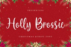 HollyBrossie Font Product Image 1
