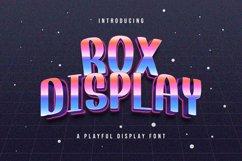 Rox Display - Playful Display Font Product Image 1