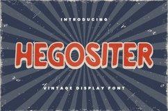 Hegositer Font Product Image 1