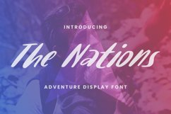 The Nations Font Product Image 1
