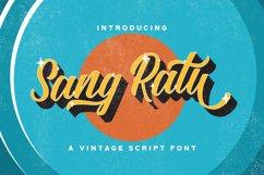 Sang Ratu - Vintage Script Font Product Image 1