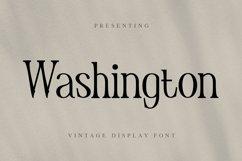 Washington Font Product Image 1
