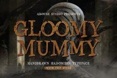 Gloomy Mummy Font Product Image 1