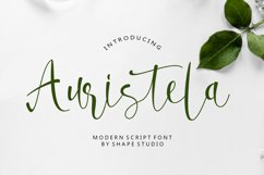 Auristela Script Product Image 1