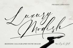Luxury Modish - Modern Calligraphy Product Image 1