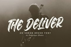 The Deliver - Urban Brush Font Product Image 1