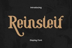 Reinsleif Font Product Image 1