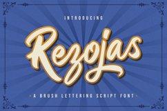 Rezojas - Bold Script Font Product Image 1