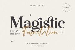 Magistic - Duo Ligature Typeface Product Image 1