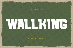 WALLKING Font Product Image 1