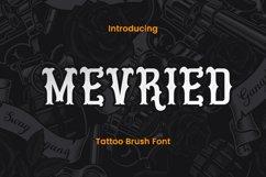 Mevried - A Tattoo Font Product Image 1