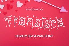 Fransisca Font Product Image 1