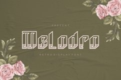 Melodro Font Product Image 1