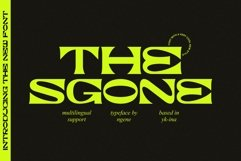 The Sgone Product Image 1