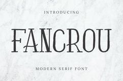 Fancrou Font Product Image 1