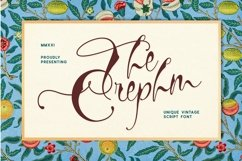 Crephm Font Product Image 1