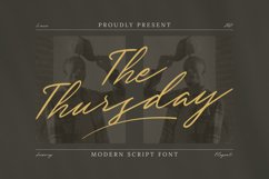 The Thursday Font Product Image 1
