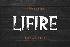 Lifire Font Product Image 1