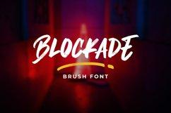 Blockade Brush Font Product Image 1