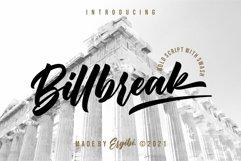 Billbreak - Bold Script Product Image 1