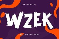 Wzek Font Product Image 1