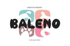 Baleno Font Product Image 1