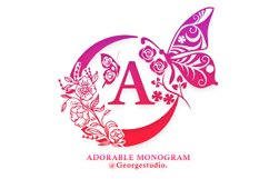Adorable Monogram Product Image 1