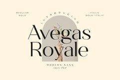 Avegas Royale - Modern Sans Product Image 1
