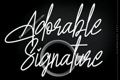 Adorable Signature Product Image 1