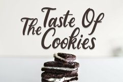 Web Font Sugar Biscuits - Handlettered Font Product Image 2